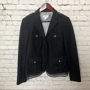 ANN TAYLOR LOFT Blazer Jacket With Details Size 8